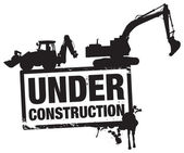Under construction — Foto Stock
