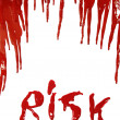 Bloody Risk — Stock Photo