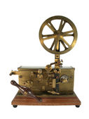 Antique telegraph isolated — Stock Photo