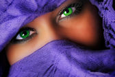 Arab eyes — Stock Photo