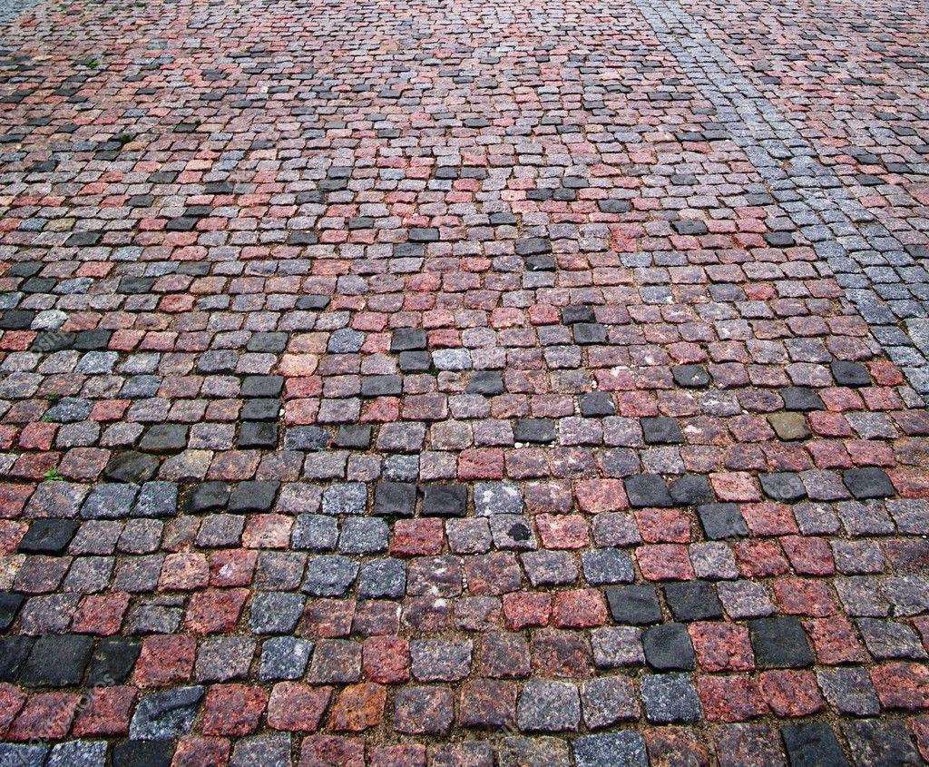 Cobblestone Background Old cobblestone pavement