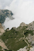 Mountain panoramic view — Stock Photo