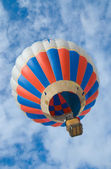 Air balloon Montgolfiere — Stock Photo