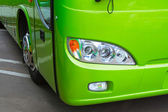 Bus headlight — Stock Photo