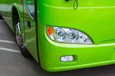Bus headlight — Stock Photo