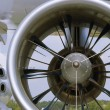 Turbo-prop engine — Stock Photo