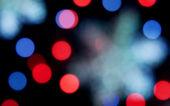 Christmas decoration lights — Stock Photo