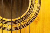 Charango sound hole — Stock Photo