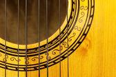 Charango sound hole — Stock Photo