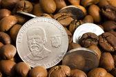 Coin of republic Ecuador — Stock Photo