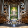 Internal view of the New Coventry Cathedral — Stock Photo