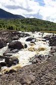 Beautiful waterfall in Wales — Stock Photo