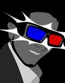 3D glasses. — Stock Photo