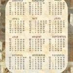 Calendar 2011 — Stock Photo #4282544