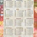 Calendar 2011 — Stock Photo #4282690