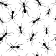 Royalty-Free Stock Vector Image: Ant repetitions