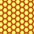Honeycomb repetition — Imagen vectorial