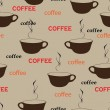 Coffee repetition — Vector de stock #4037901