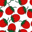 Strawberry repetition — Vector de stock #4054839