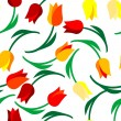 Seamless floral pattern — Vector de stock #4054853