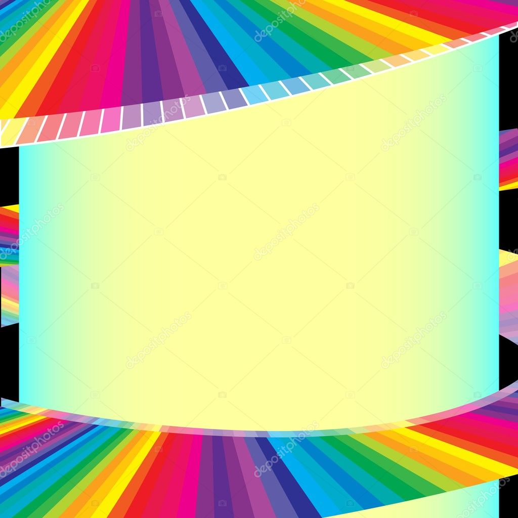 Colorful burst background — Stock Vector #4055387