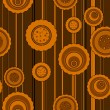 Vector de stock : Seamless circle pattern