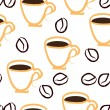 Coffee repetition — Imagen vectorial