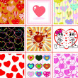 Stock Vector: Valentine collection