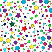 Seamless star pattern — Stock vektor