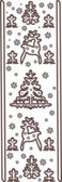 Lace Christmas ornament — Stock Vector