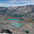 Stock Photo: Small alpin lakes