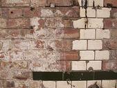 Brick work — Stock Photo