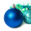 New Year's colorful christmas decorations. — Stock Photo