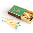 Box with matches — Stock Photo #4752007