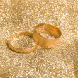 Stock Photo: Gold rings