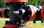 单位的一口油井 — 图库照片