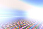 Neon siatki — Zdjęcie stockowe