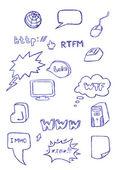 コンピューターのシンボル — ストック写真