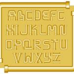 Funnels alphabet — Stock Vector #5336417