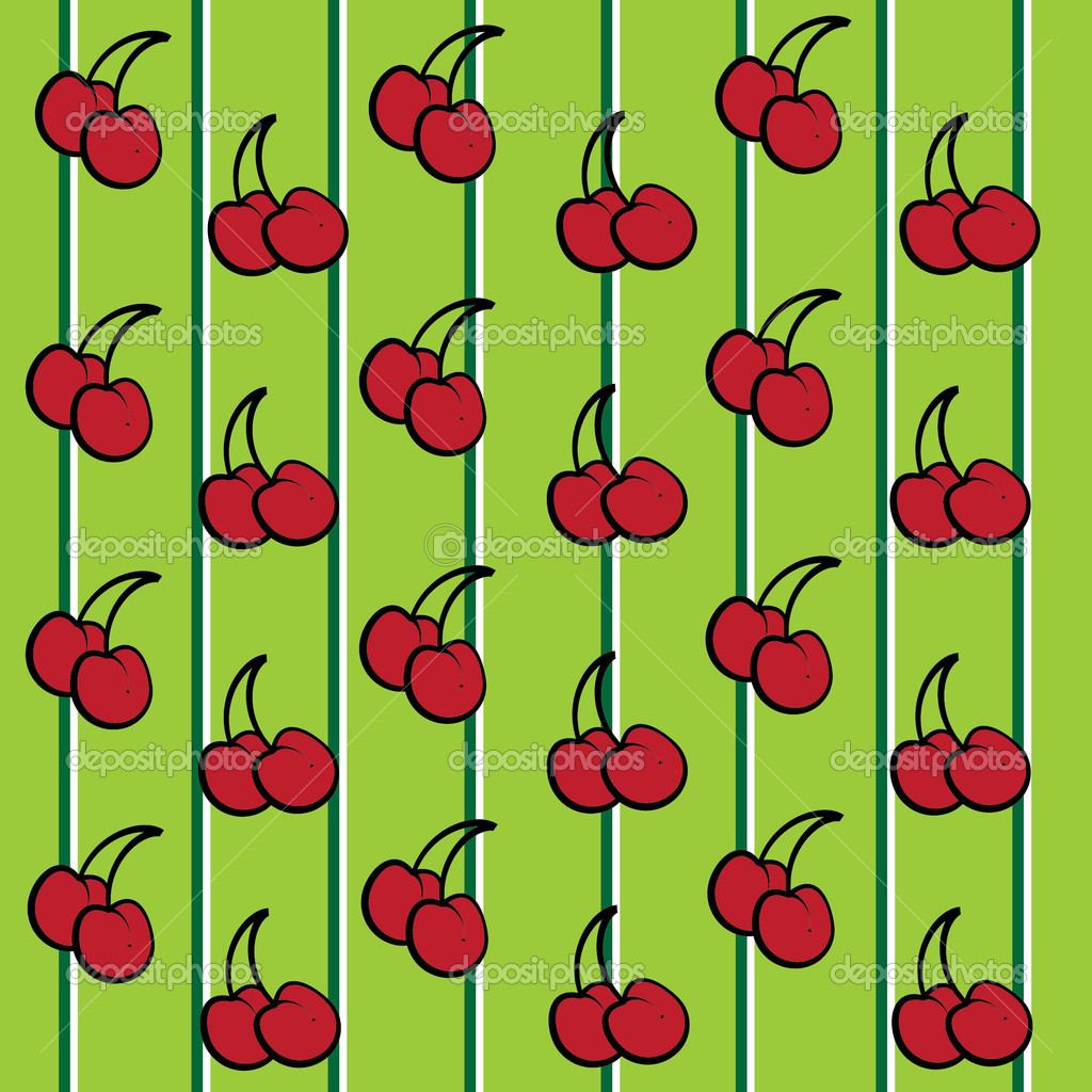 Cute Cherries Background Cute Red Cherry Fruit
