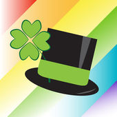 St Patricks Day Hat — Stock Vector