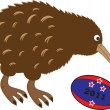 Rugby Kiwi — Stock Vector