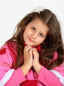 Portrait of little girl — Stock Photo