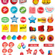 Sale Tags — Vector de stock #4028794