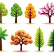 Trees — Stock Vector #4078741