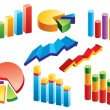 Graphs - Stock Vector