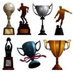 Sport Trophies — Stock Vector