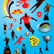 Royalty-Free Stock Vector Image: Soccer Collection