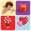 Stock Vector: Valentine's Day Set