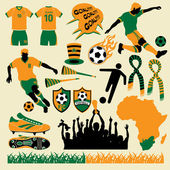 Soccer Collection — Stock Vector